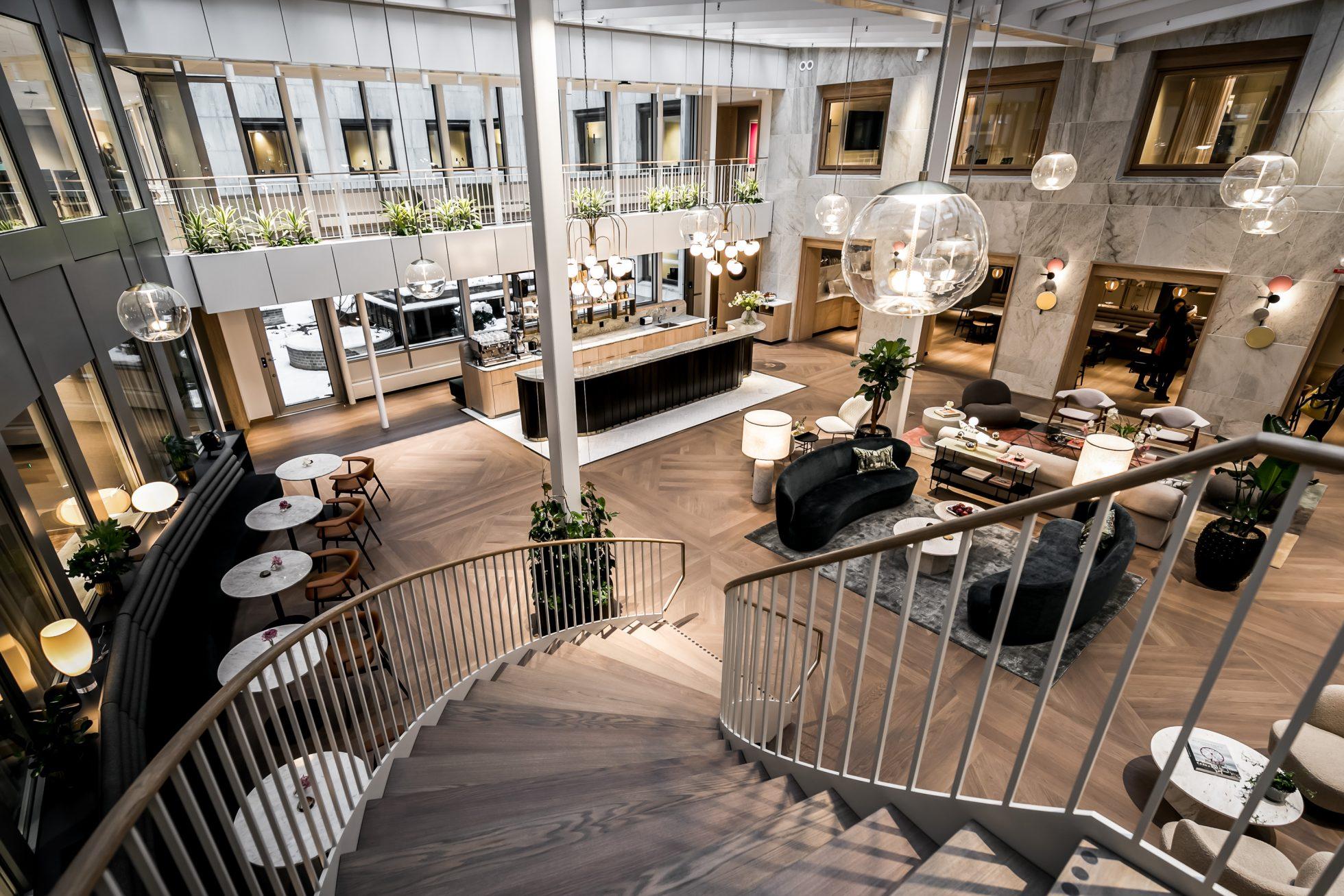 Spana in det nya kontorshotellet i Bibliotekstan