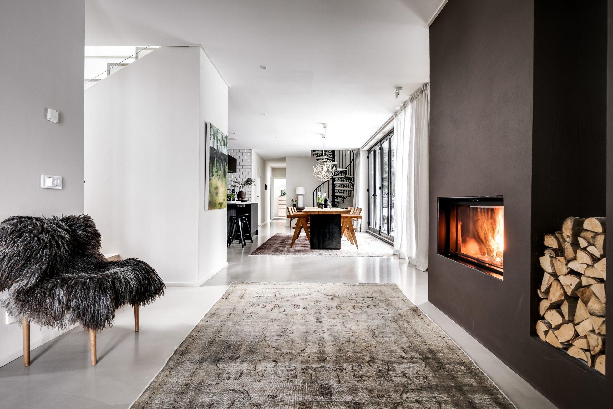 Kika in i arkitektritade villan