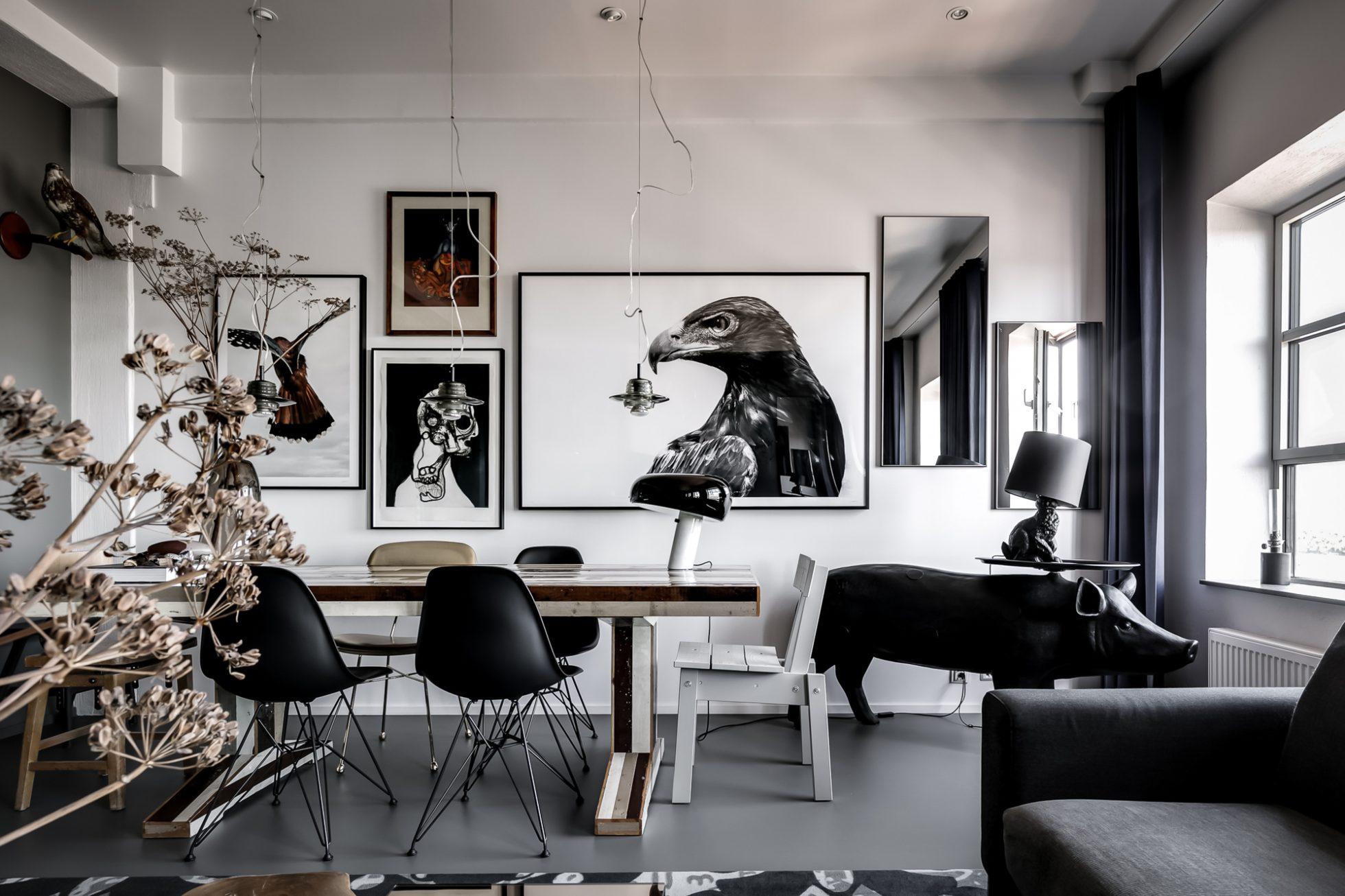 Spana denna arkitektritade lägenhet på Kvarnholmen