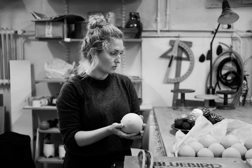 Ett besök i Anna Wadles ateljé